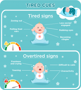 Getting your baby to sleep fast tired